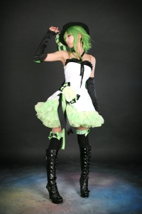 Vocaloid Gumi Camellia Cosplay by Ren 05