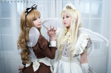Honey and Maron Cosplay by Tomia and Momoren 12