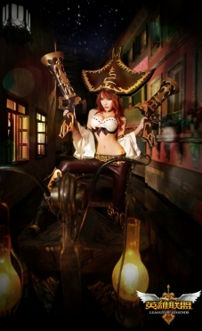 Miss Fortune Cosplay by Wang Hui Xin 05
