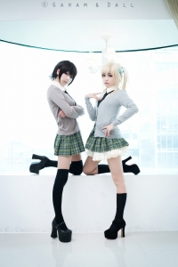 Sena and Yozora Cosplay by Tomia and Momoren 29