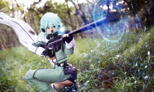 Sinon Cosplay by Misa 03