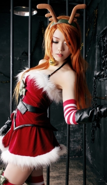 Katarina Slay Belle Cosplay by Eki Holic 01
