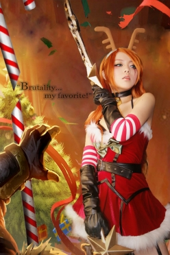 Katarina Slay Belle Cosplay by Eki Holic 08