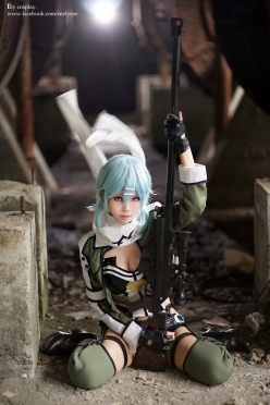 Sinon Cosplay by Ely 2